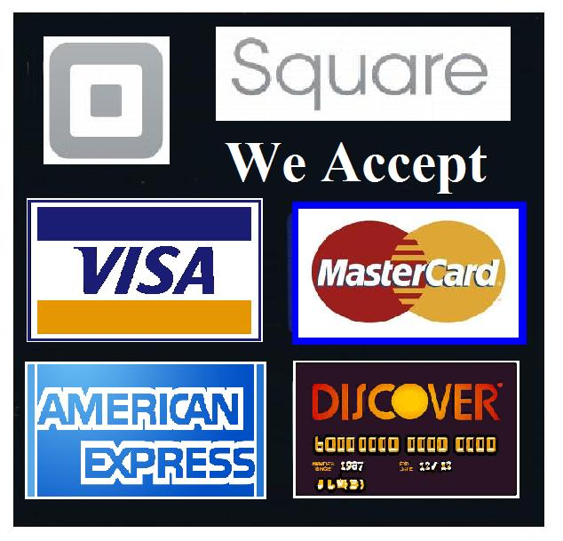 It is a picture of Bewitching We Accept Credit Card Signs Printable